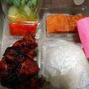Paket Nasi Ayam Bakar Presto Catering Nasi Box Kotak Prasmanan (17470967) di