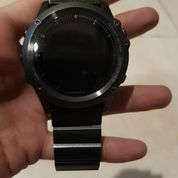 Garmin Fenix 3 Sapphire Grey With Metal Titanium Band Original VERY MINT CONDITION