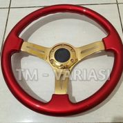 Stir Racing Wood Red Colour Import 14 Inchi Palang Gold Premium