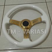 Stir Racing Wood White Colour Import 14 Inchi Palang Gold Premium