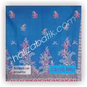 Kain Batik, Batik Modern Wanita, Fashion Batik, CB135 Biru (17498623) di Kota Mojokerto
