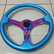Stir Racing Wood Blue Colour Import 14 Inchi Palang Neochrome Premium (17523727) di Kota Jakarta Pusat