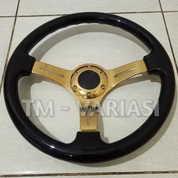 Stir Racing Wood Black Colour Import 14 Inchi Palang Gold Premium (17523795) di Kota Jakarta Pusat