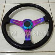 Stir Racing Wood Black Colour Import 14 Inchi Palang Neochrome Premium (17523811) di Kota Jakarta Pusat