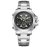 Jam Tangan Golden Hour 101 Silver Original/ Jam Tangan Pria Stainless Steel Military