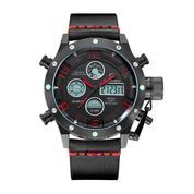 GOLDEN HOUR 106 Black Red - Jam Tangan Sporty Pria