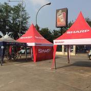 Tenda Kerucut Plus Dinding Bahan (17593223) di Kota Jakarta Barat