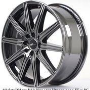 HONDA JAZZ RACING VELEG TIPE ATHELETE HSR R17X7 H8X100-114,3 ET45 BLACK CHROME
