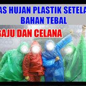 Jas Hujan Plastik Setelan = Baju Dan Celana