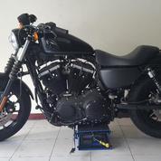 Harley Davidson Sportster Iron 883 2014 Black Denim Full Paper Mabua
