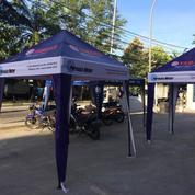 Tenda Cafe 2x3 Bisa Branding Murah