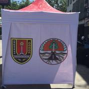 Tenda Lipat 3 Dinding Ready Printing