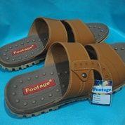 Sandal Pria Footage Coklat 39-40