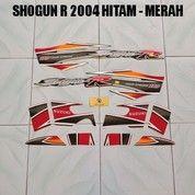 Striping Shogun R 2004 Hitam - Merah (17660027) di Kota Jambi