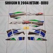 Striping Shogun R 2004 Hitam - Biru (17660039) di Kota Jambi