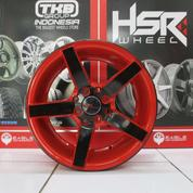 Velg Mobil Ring 16 Type NE3 Hole 4x100 Warna Bkred