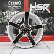 Velg Ring 15 Murah Type NE3 Pcd 4x100 Warna Black White