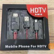 Kabel MHL Micro USB To HDMI Mobile Phone HDTV SM18