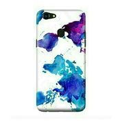 Purple Blots Oppo F5 Custom Hard Case