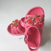 Sepatu Anak Perempuan Sandal Karet Wanita Sendal Cewek Kupu-Kupu Cantik (17693195) di Kota Tangerang