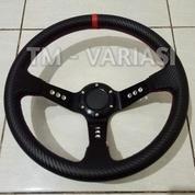 Stir Racing Import Premium Drifting Celong 14 Inchi Palang Hitam List Merah (17693411) di Kota Jakarta Pusat