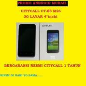 Android Murah CITYCALL CT-88 M26 3G LAYAR 4''Inchi GRS RESMI 1Thn (17704503) di Kota Jakarta Barat