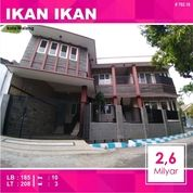 Rumah + Kost 10 Kamar Luas 208 Di Ikan Kemirahan Blimbing Kota Malang _ 662.18 (17741919) di Kota Malang