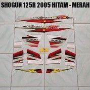 Striping Shogun 125R 2005 Hitam - Merah