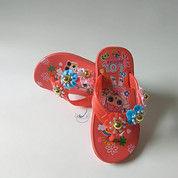 Sandal Jepit Anak Perempuan Sendal Karet Wanita Karakter Cewek Bunga L O L (17757735) di Kota Tangerang