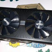 VGA Radeon RX 580 4GB DDR5 256 Bit Sapphire Nitro + (17796703) di Kota Jakarta Timur