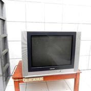 Samsung Tv 21 In Layar Datar Silver Jernih Suara Ok Katapang Kab.Bandung