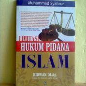 Buku Limitasi Hukum Pidana ISLAM