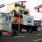 Ruko 5 Lantai Terletak Dipusat Bisnis Kota Yogyakarta (JL Urip Sumoharjo), Sangat Strateg