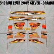 Striping Shogun 125R 2005 Silver - Orange