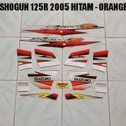 Striping Shogun 125R 2005 Hitam - Orange