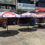 Tenda Payung Promosi Rangka Besi