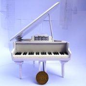 Miniatur Grand Piano Special White (17968299) di Kab. Madiun