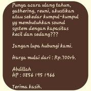 Rental Sound System Jakarta Selatan (17976259) di Kota Jakarta Selatan