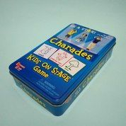 Travel Games In A Tin Charades Kids On Stage By University Games