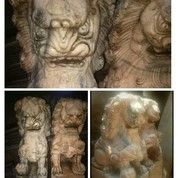 Sepasang Patung Siamsi/Singa Liong