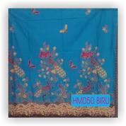 Busana Batik, Kain Batik Modern, Butik Baju Batik, HM050 BIRU (18019655) di Kota Mojokerto
