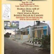 De Farda Rumah Siap Huni Dp Suka 2 ,Free Semua Biaya