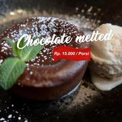 PAKET CATERING CHOCOLATE MELTED + ICE CREAM
