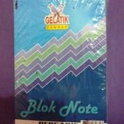Buku Block Note Bergaris