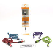 KABEL USB DT+CHG CELLKIT 307 (FLAT, MICRO, 100CM) (18097599) di Kota Surabaya
