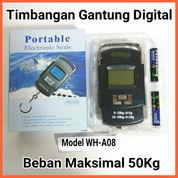 Timbangan Gantung Portable Digital Max 50kg (18101531) di Kab. Grobogan