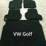 Karpet VW Golf Mk7 2 Layer Simple Dan Sporty