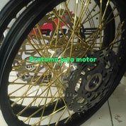 Velg Jari-Jari Variasi Untuk Motor Honda Sonic Dan Supra X 125 (18126191) di Kota Depok