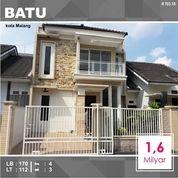 Rumah 2 Lantai Luas 112 Di Pesanggrahan Kusuma Kota Batu Malang _ 703.18 (18155627) di Kota Malang