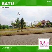 Tanah Murah Luas 1.195 Di Perum. Panderman Hill Kota Batu Malang _ 706.18 (18160791) di Kota Malang